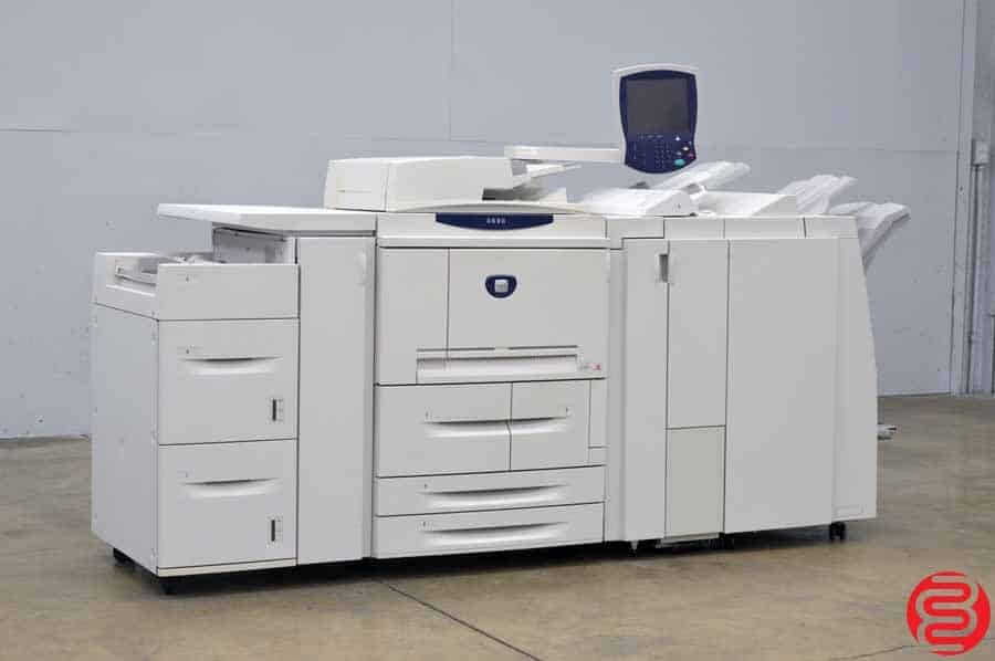 Xerox 4590 Monochrome Digital Press w/ Booklet Maker Finisher and Inserter