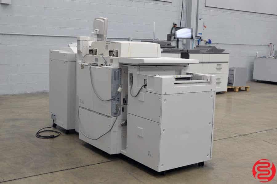 Xerox 4590 Monochrome Digital Press w/ Booklet Maker Finisher and Inserter