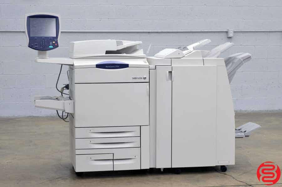 Xerox WorkCentre 7755 Digital Press w/ Light Production Finisher