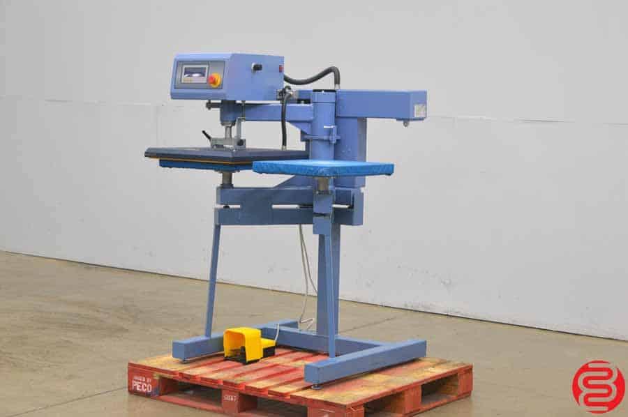 2012 AIT 1550PA Dual-Platen Automatic Heat Transfer Printing Press
