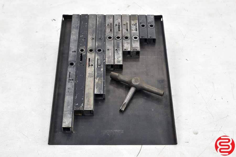 Assorted High Speed Quoins - Qty 10