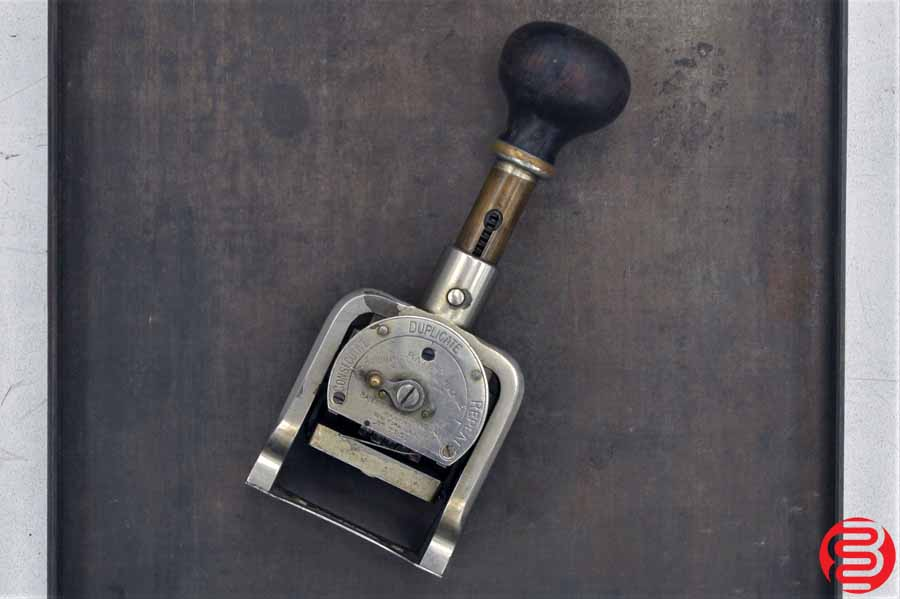 Bates Style E 6 Wheel Numbering Machine