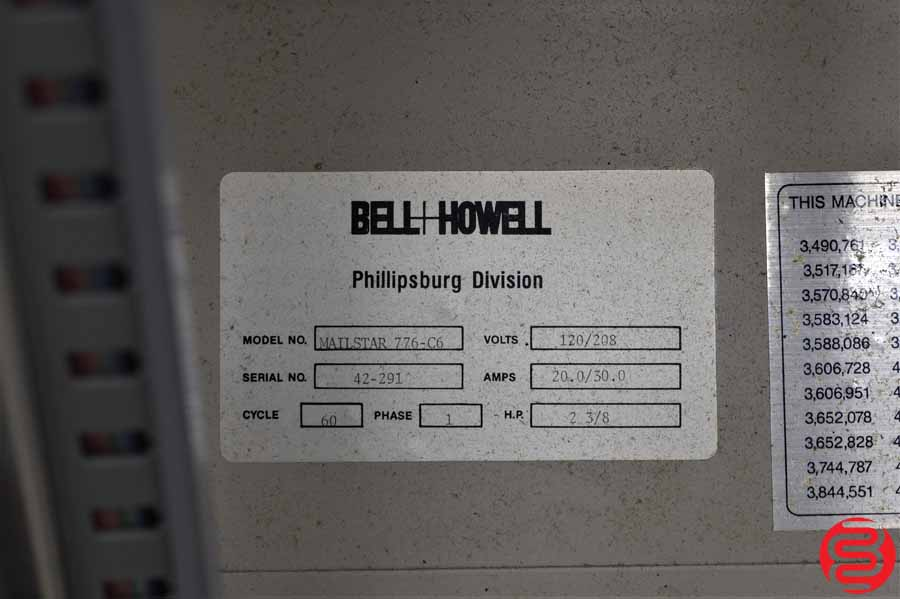 Bell and Howell Phillipsburg Mailstar 776-C6 6 Pocket Inserter