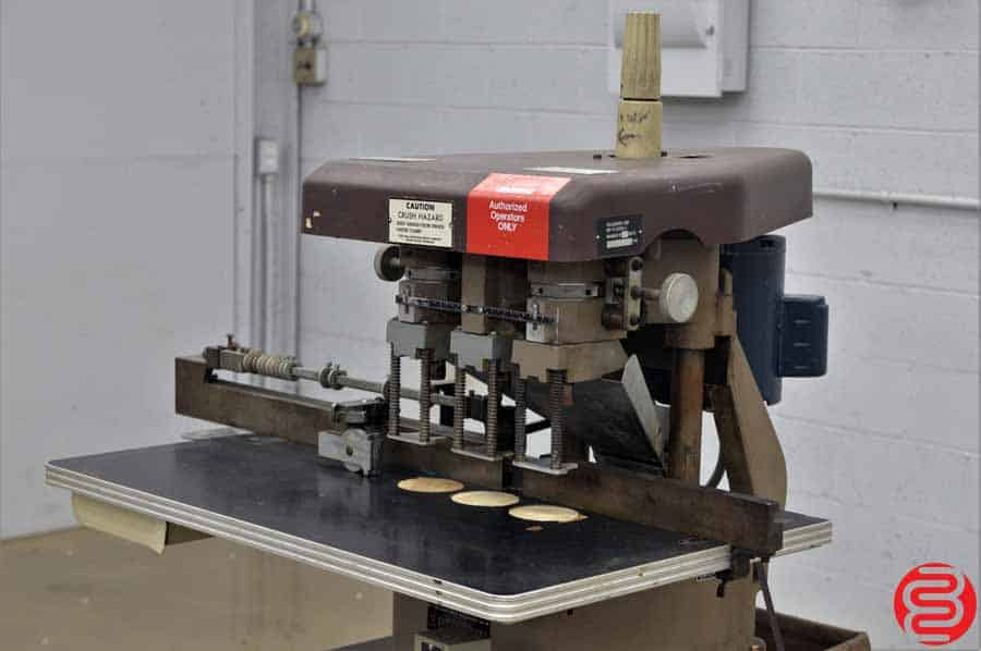 Challenge EH-3A Three Spindle Hydraulic Paper Drill