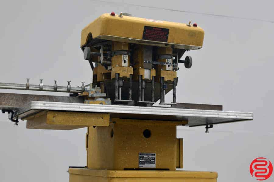 Challenge EH3 Three Spindle Hydraulic Paper Drill
