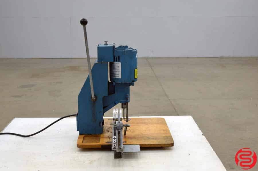 Challenge JO Tabletop Single Spindle Paper Drill