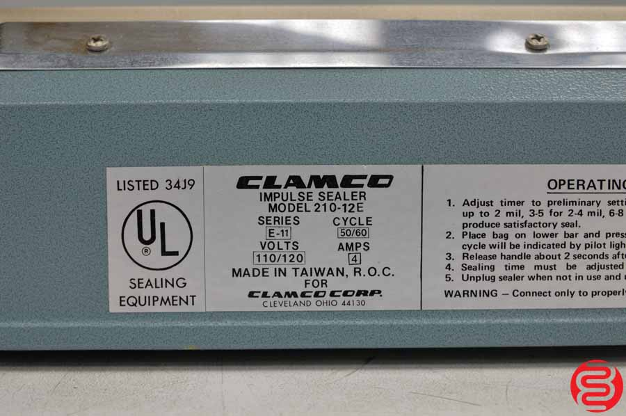 Clamco 210 Impulse Bag Sealer
