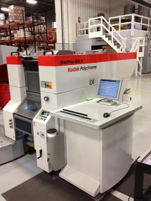 Kodak DirectPress 5634 DI Digital Press