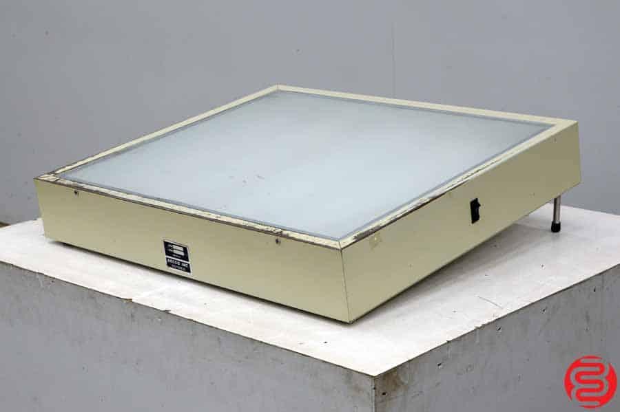 Drecco Model 2428 Light Table