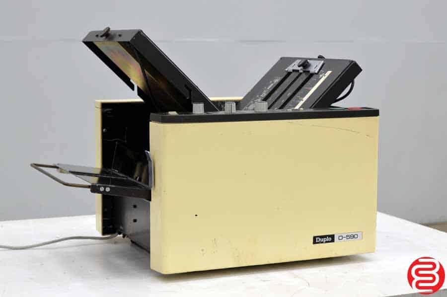 Duplo D-590 Paper Folder