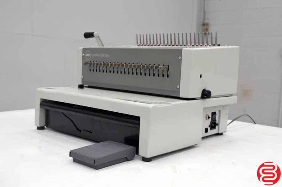 GBC CombBind C800pro Electric Plastic Comb Binding Machine
