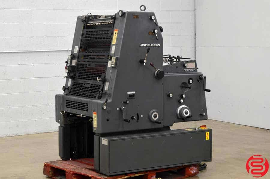 Heidelberg GTO 52 One Color Offset Printing Press