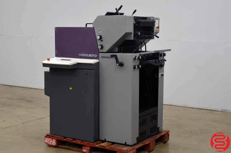 1999 Heidelberg Printmaster QM 46-2 Two Color Printing Press