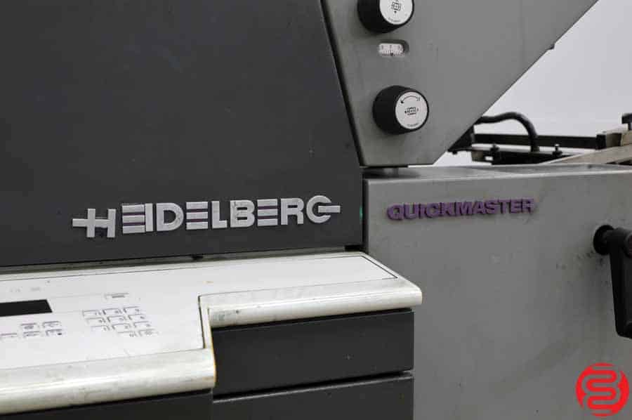 1997 Heidelberg Quickmaster QM 46-2 Two Color Printing Press