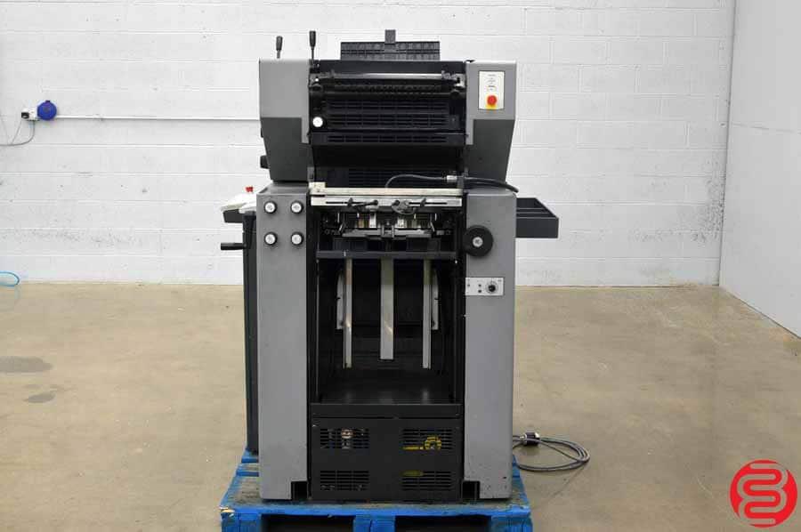 1997 Heidelberg Quickmaster QM 46-2 Two Color Printing Press
