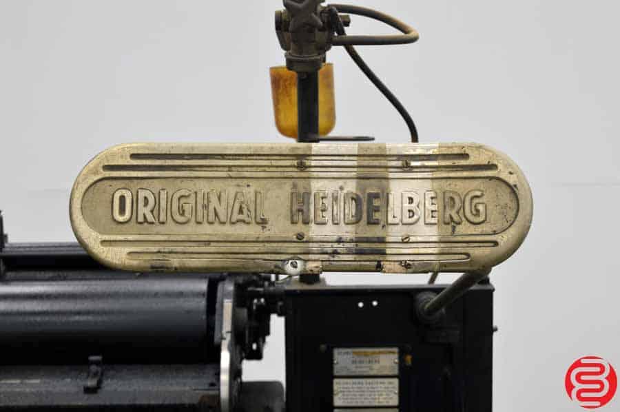 """Heidelberg 10"""" x 15"""" Windmill Letterpress"""