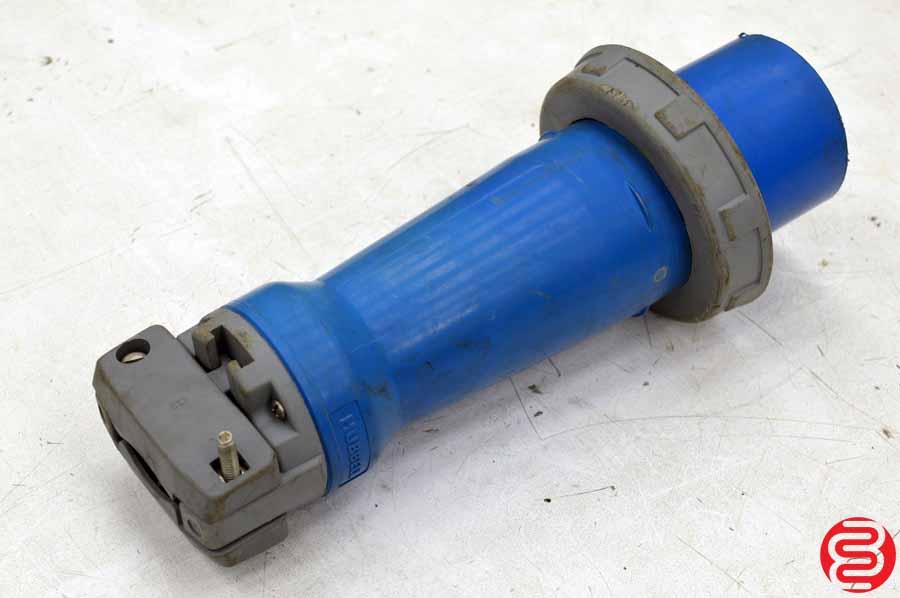 Hubbell HBL3100P6W AC Plug IEC60309 3100P6W Male IEC 309 Pin & Sleeve