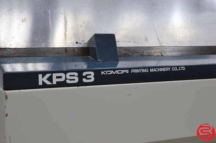 Komori KPS 3 Plate Punch