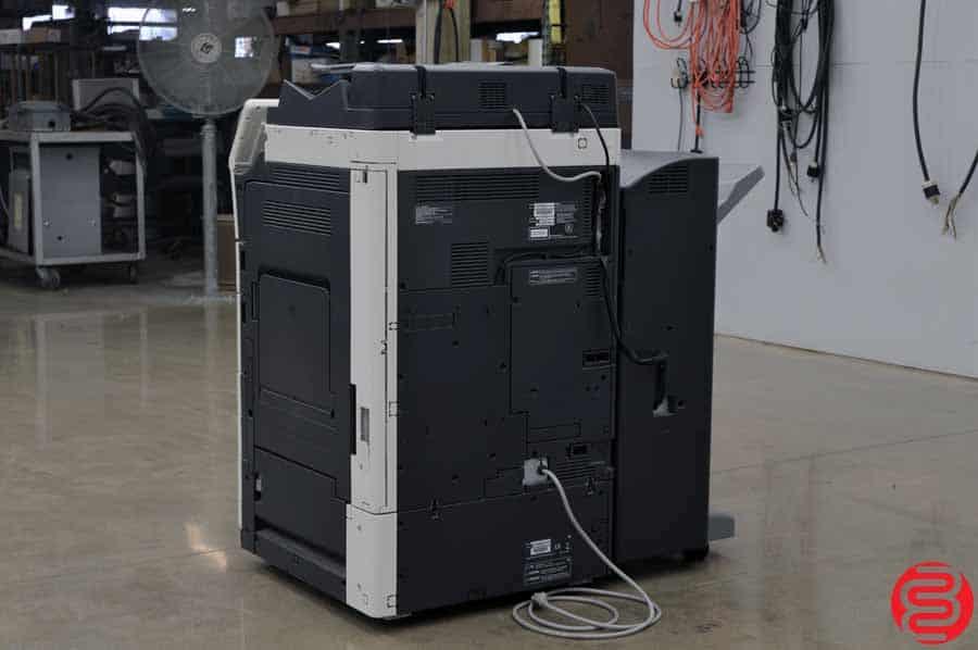 2014 Konica Minolta Bizhub C554e Digital Press w/ Finishing Unit