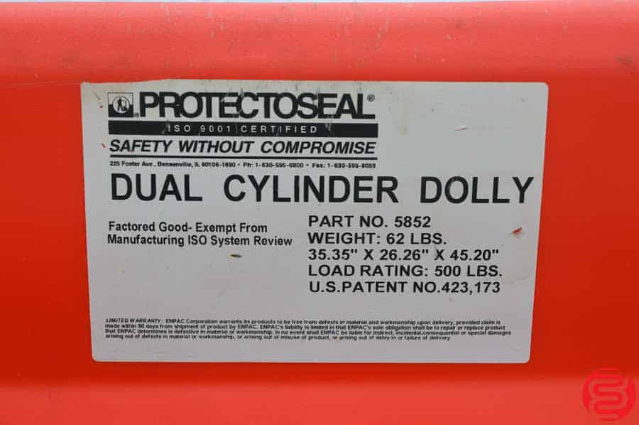 Protectoseal Dual Cylinder Dolly