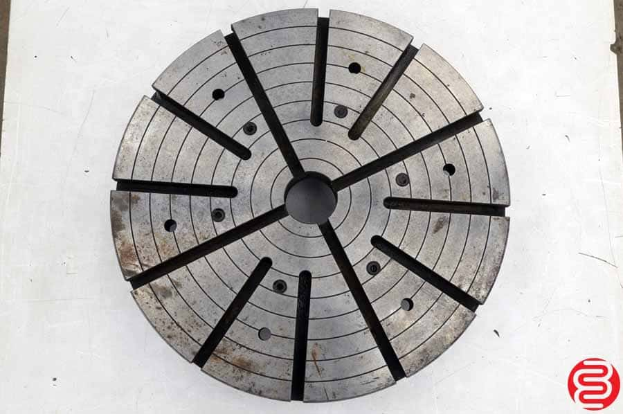 Radial T-Slotted Lathe Plate