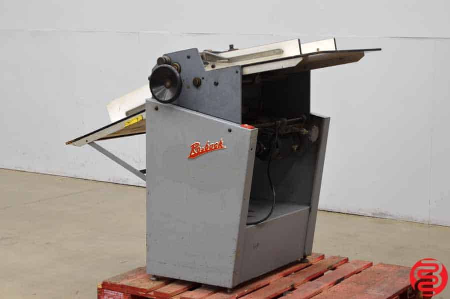 Rosback 220 True Line Perforator Perf Slit Score Machine