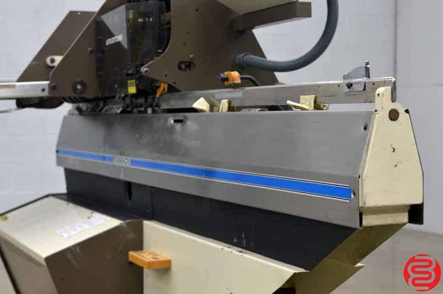 Rosback 318 Saddle Stitcher Semi-Automatic Book Binding System
