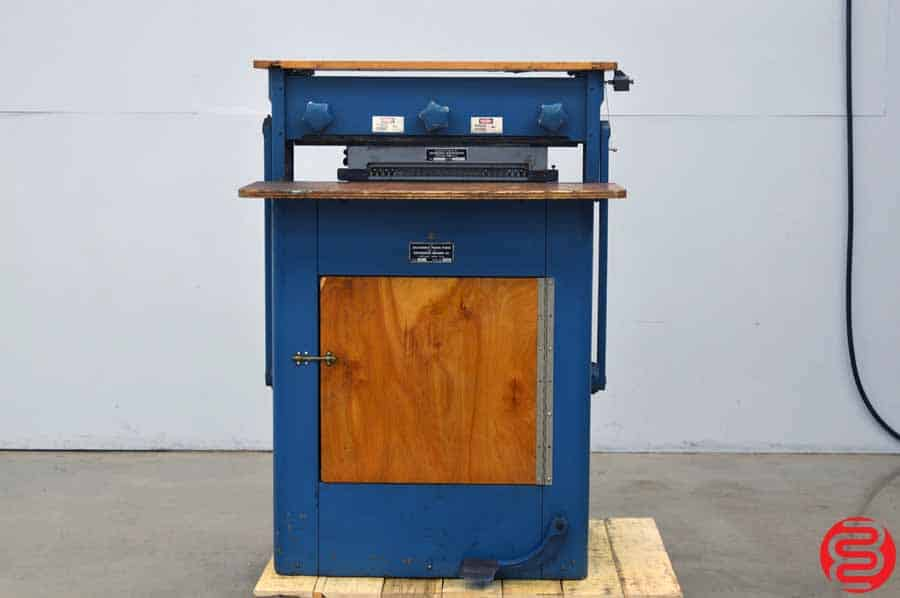 Southworth Model SP Power Punch Paper Punch