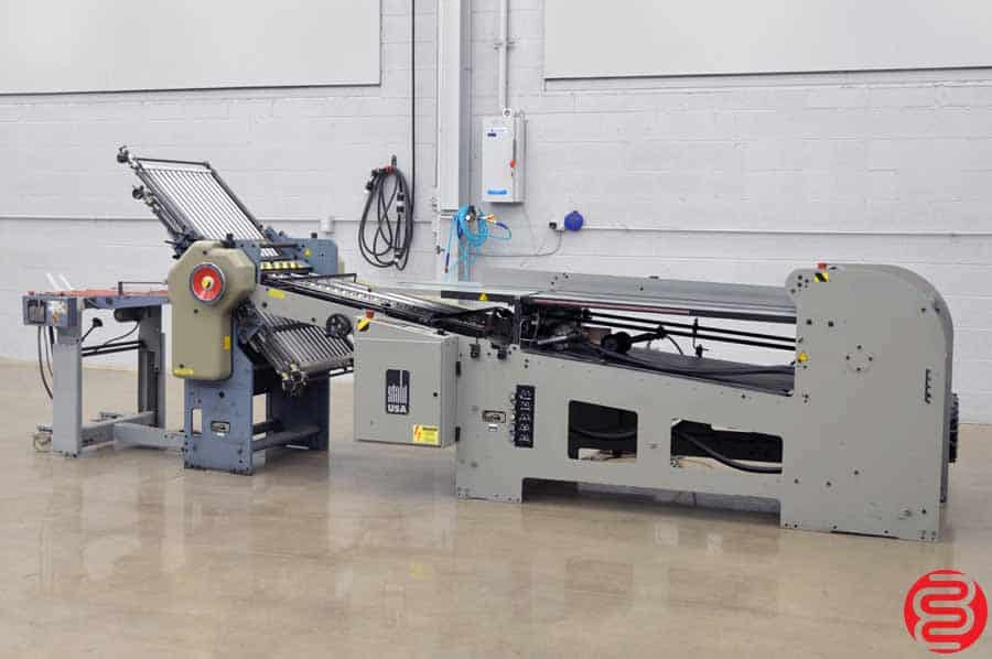 2000 Stahl 1426B Continuous Feed Paper Folder w/ Mobile Delivery