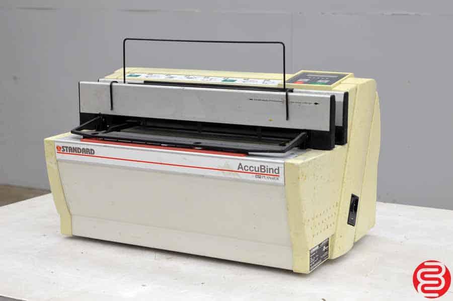 Standard AccuBind Tape Binder Binding Machine