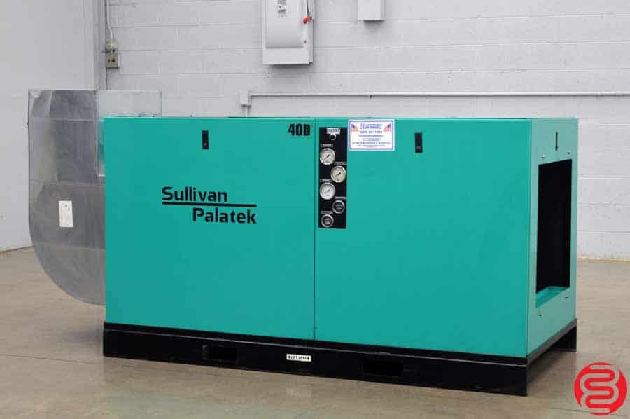 Sullivan Palatek 40D Air Compressor w/ Acoustical Enclosure