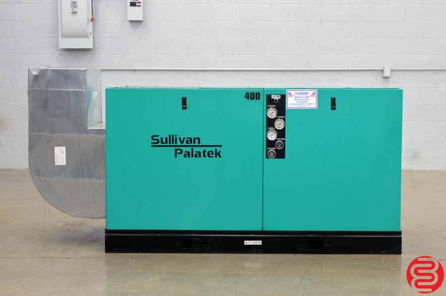 Sullivan Palatek 40D Air Compressor w/ Acoustical Enclosure