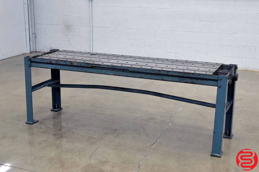 T Slotted Metal Working / Welding Work Bench