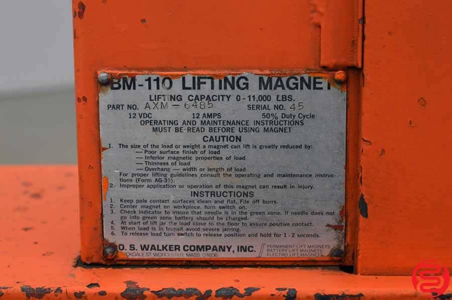 Walker Bux BM110 Steel Lifting Magnet