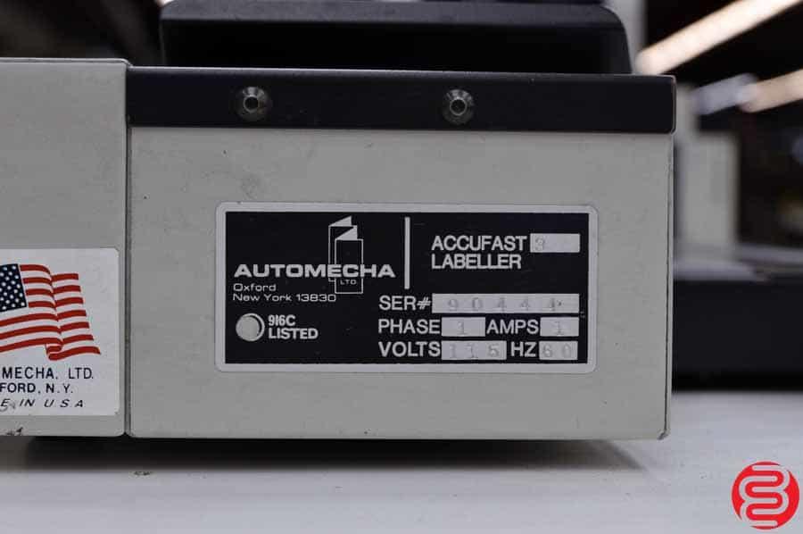 Accufast XL Labeler w/ 3FV Conveyor