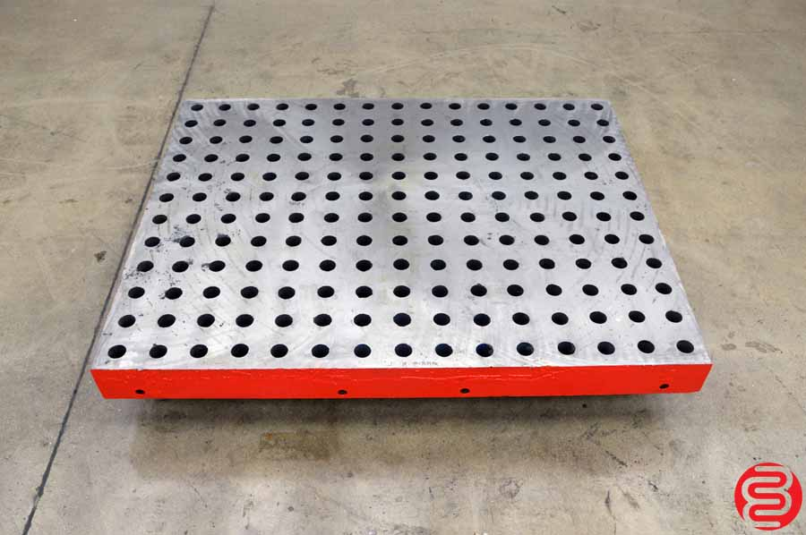 "Acorn Weldsale Style Welding Table / Platen - Freshly Surface Ground 48"" x 60"""