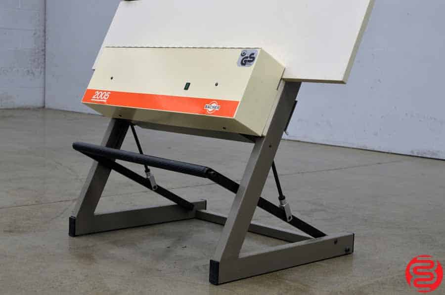 Bacher Control 2000 Register System Plate Punch