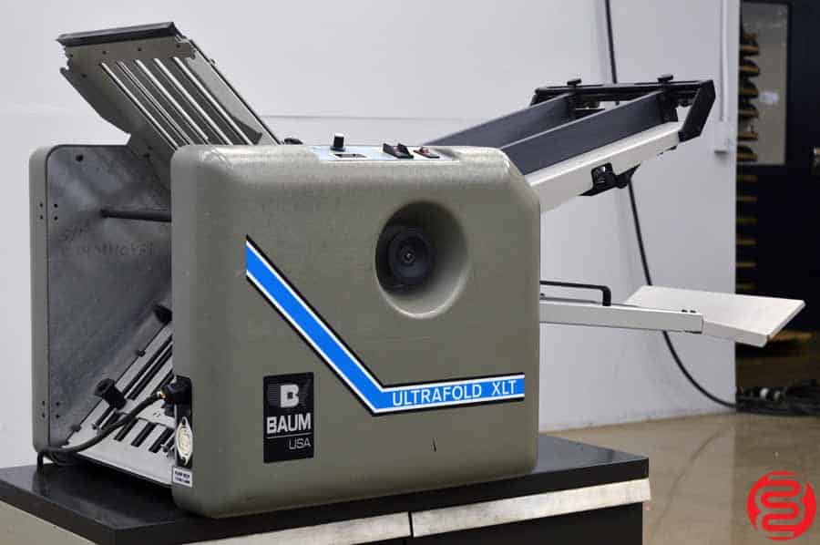 Baum 714 Ultrafold XLT Vacuum Feed Paper Folder
