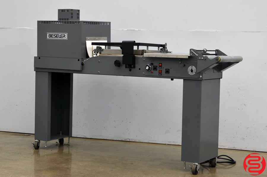 Beseler 1812 Semi-Automatic Shrink Wrap System w/ Magnetic Hold Down