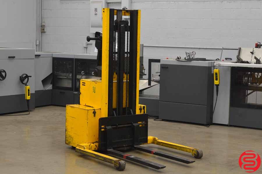 Big Joe PDM Medium Duty Walkie Straddle Stackers w/ Battery Charger