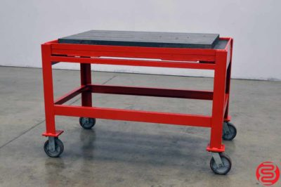 """Cast Iron T-Slotted Welding Table / Layout Plate / Fixture - 29"""" x 45"""""""