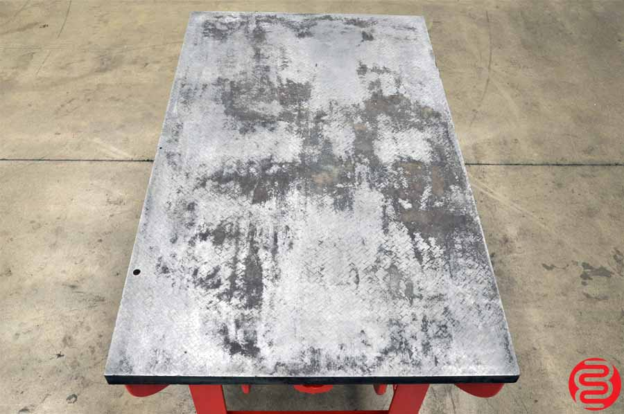 """Cast Iron Welding Layout Inspection Work Table Bench 36.5"""" x 61"""""""