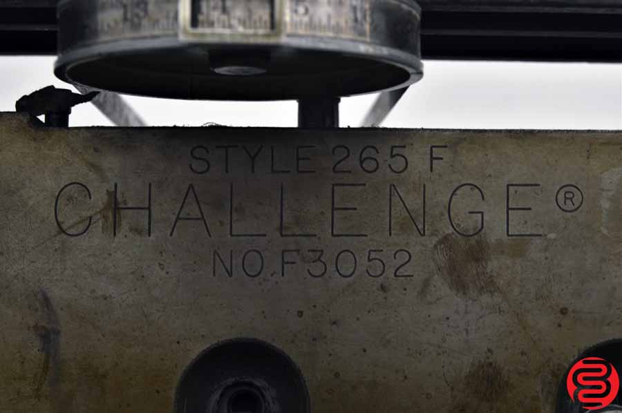 "Challenge 265 F 26.5"" Paper Cutter"