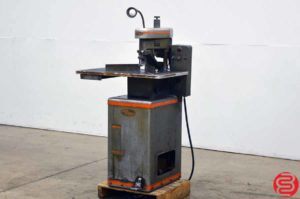 Challenge EH Single Spindle Hydraulic Paper Drill w/ Round Cornering Attachment
