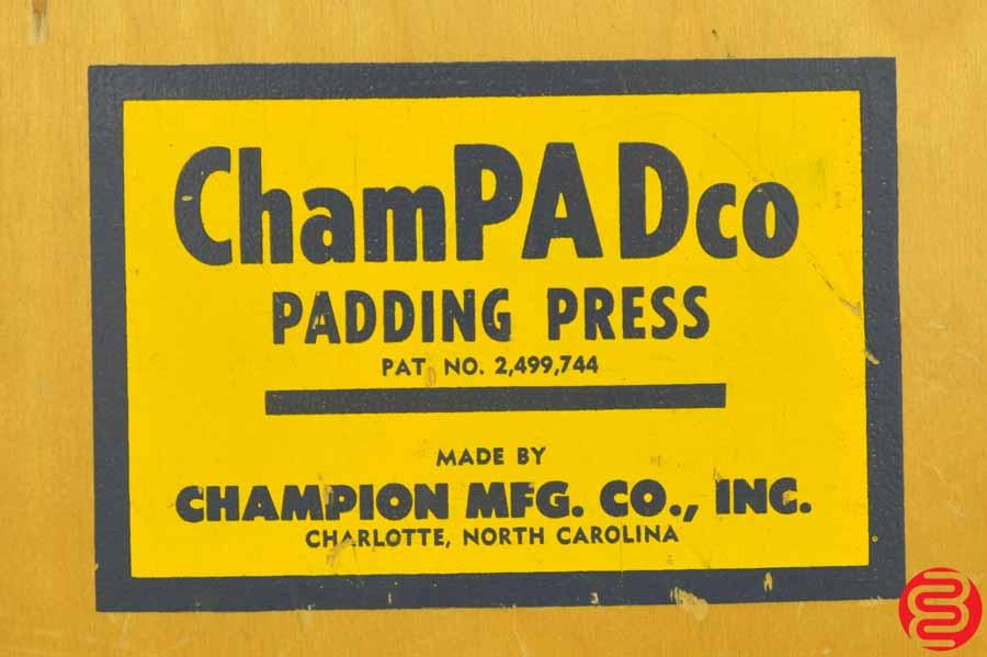 Champion ChamPADco Padding Press