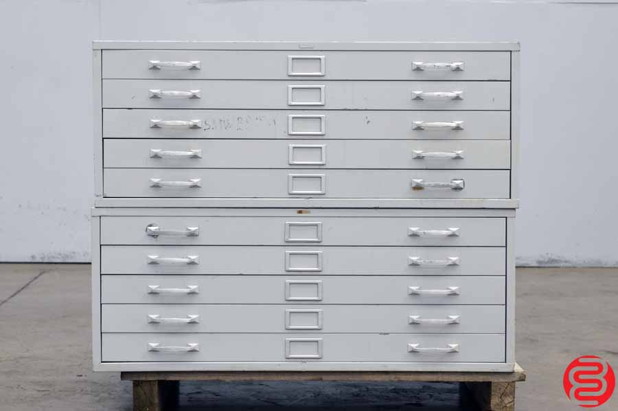 Flat Filing Cabinet - 10 Drawer