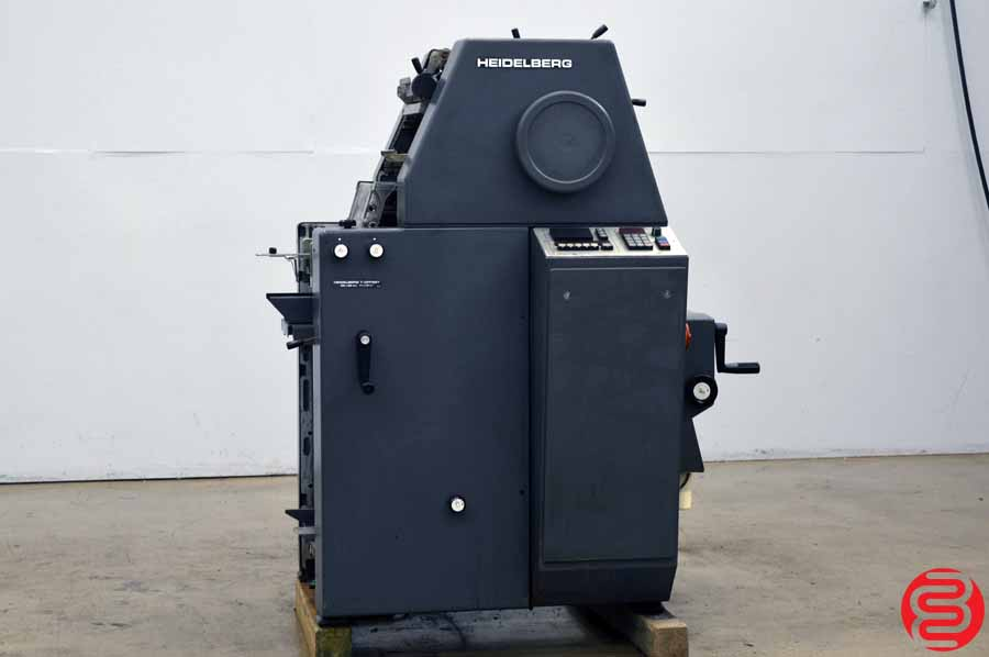 Heidelberg 28 x 39 T-Offset Single Color Printing Press