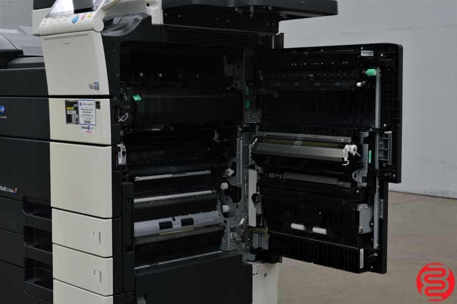 2013 Konica Minolta Bizhub C454e Color Digital Press w/ Finisher