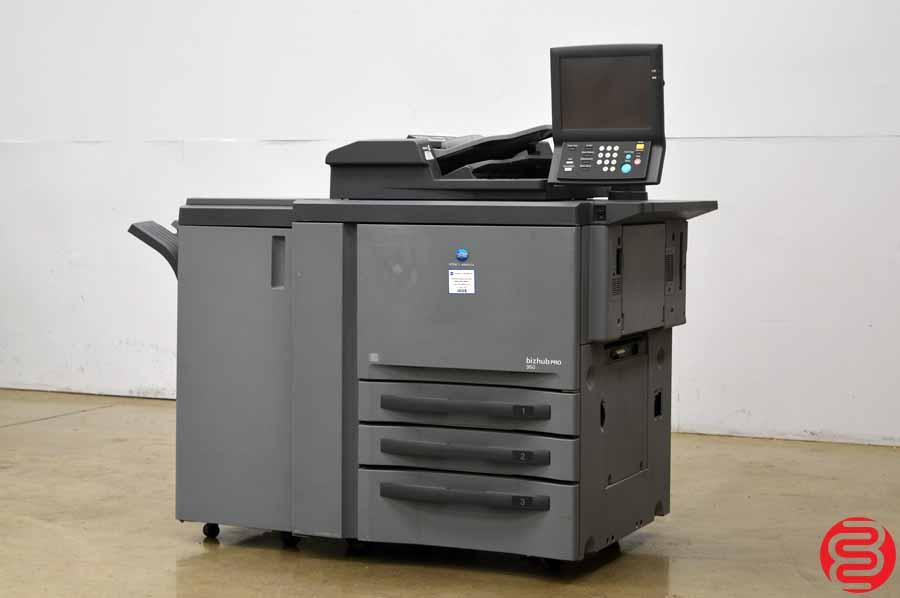 2011 Konica Minolta Pro 950 Bizhub Digital Press w/ Finisher