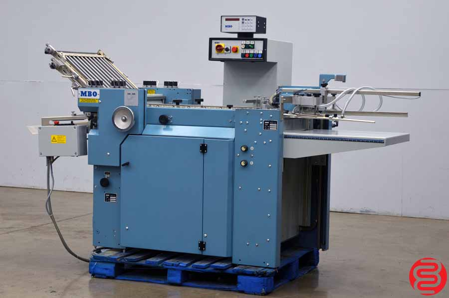 MBO B20 Pile Feed Paper Folder w/ SE 500 Motorized Delivery